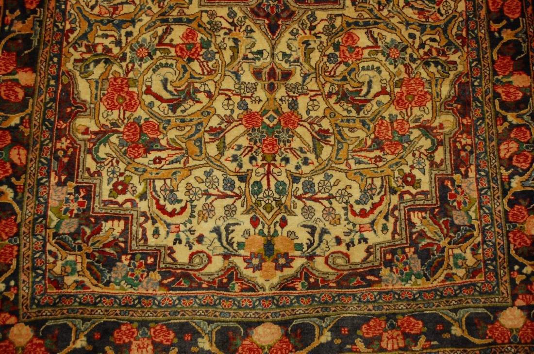 Rare Persian Bijar Rug 3.8x5.6 - 6