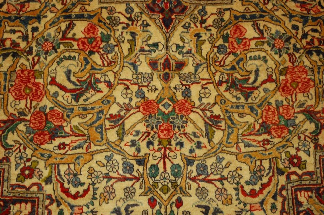 Rare Persian Bijar Rug 3.8x5.6 - 7