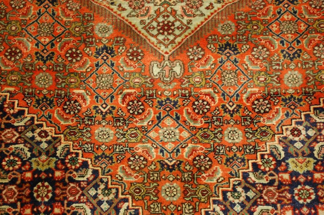 Detailed High Kpsi Persian Bijar Rug 4x5.4 - 7