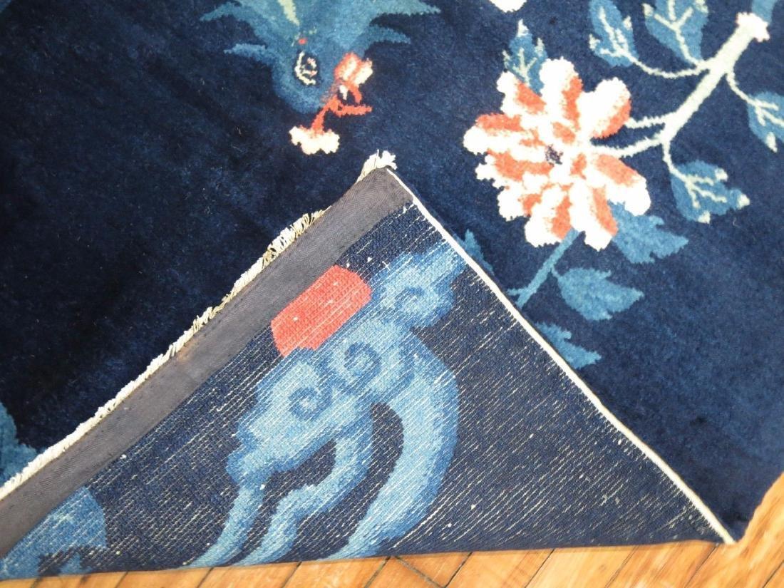 Vintage Tibetan Or Chinese Peking Rug 3.7x5.10 - 2