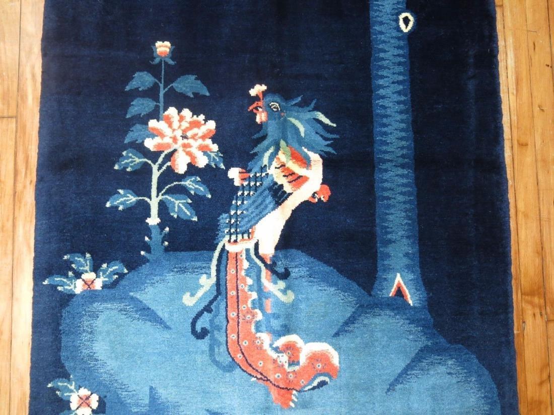 Vintage Tibetan Or Chinese Peking Rug 3.7x5.10 - 4