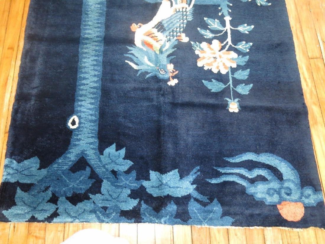 Vintage Tibetan Or Chinese Peking Rug 3.7x5.10 - 5