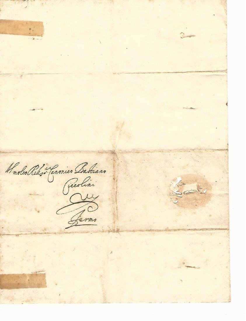 1622 Medici Manuscript Letter Signed Pisa - 2