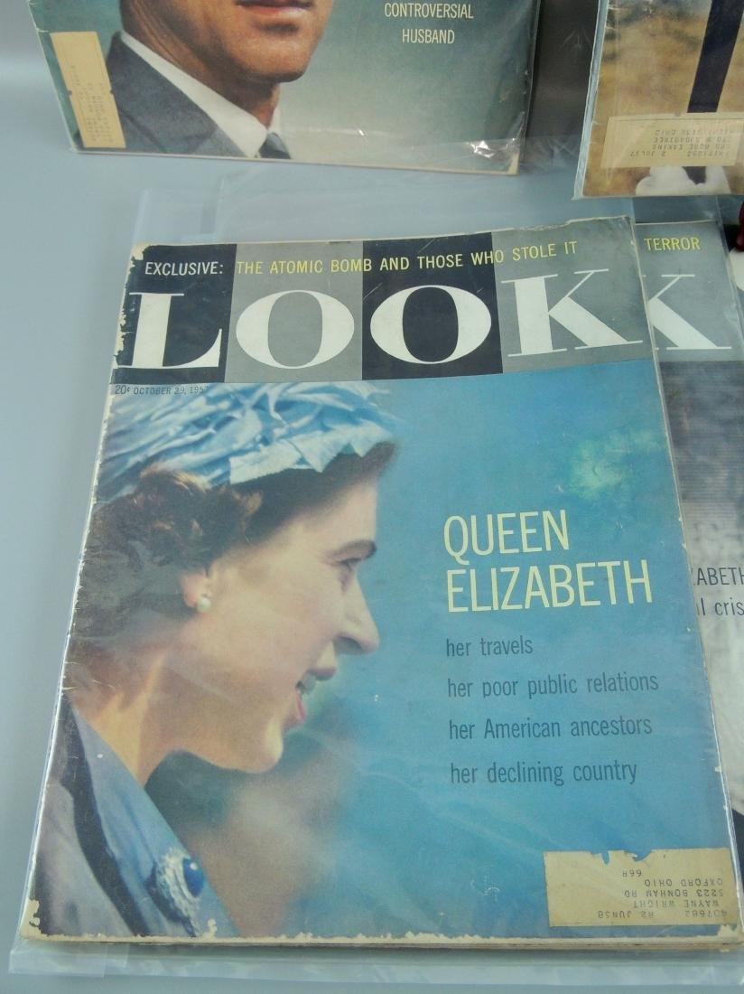 LOOK 1956 & '57 British Royals, 5 Issues - 4