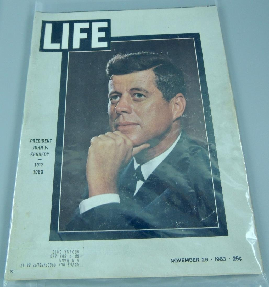 LOOK & LIFE 1960's & '70's All Kennedy 4 Issues - 2
