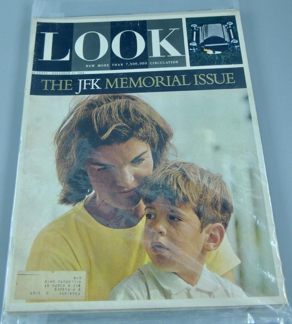 LOOK & LIFE 1960's & '70's All Kennedy 4 Issues - 3