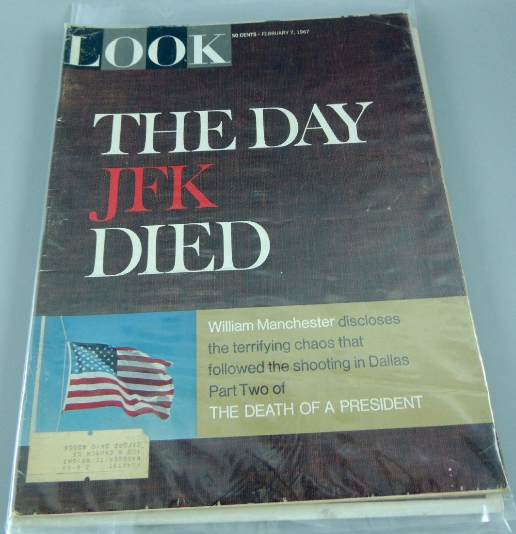 LOOK 1960's All Kennedy 3 Issues - 2