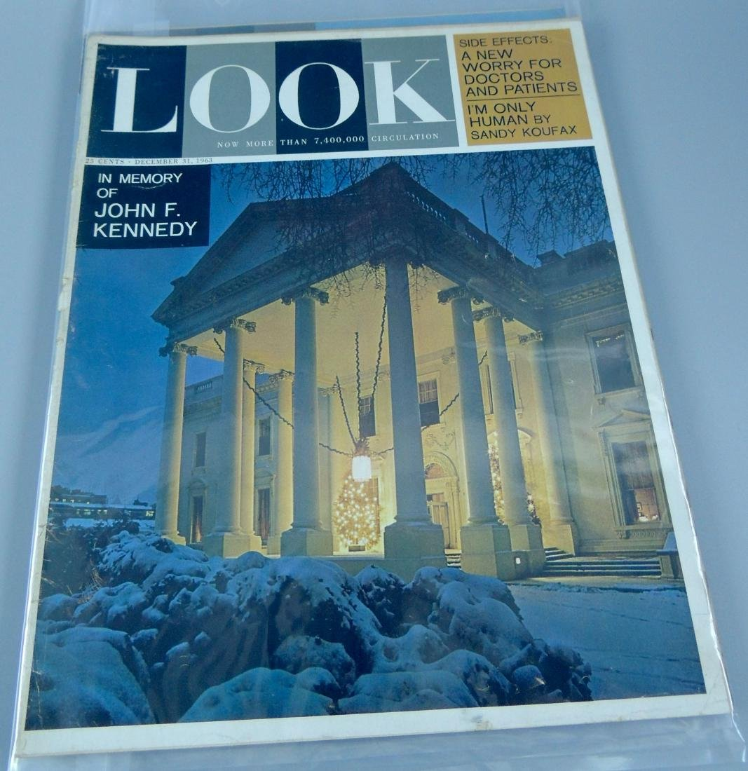 LOOK 1960's All Kennedy 3 Issues - 3