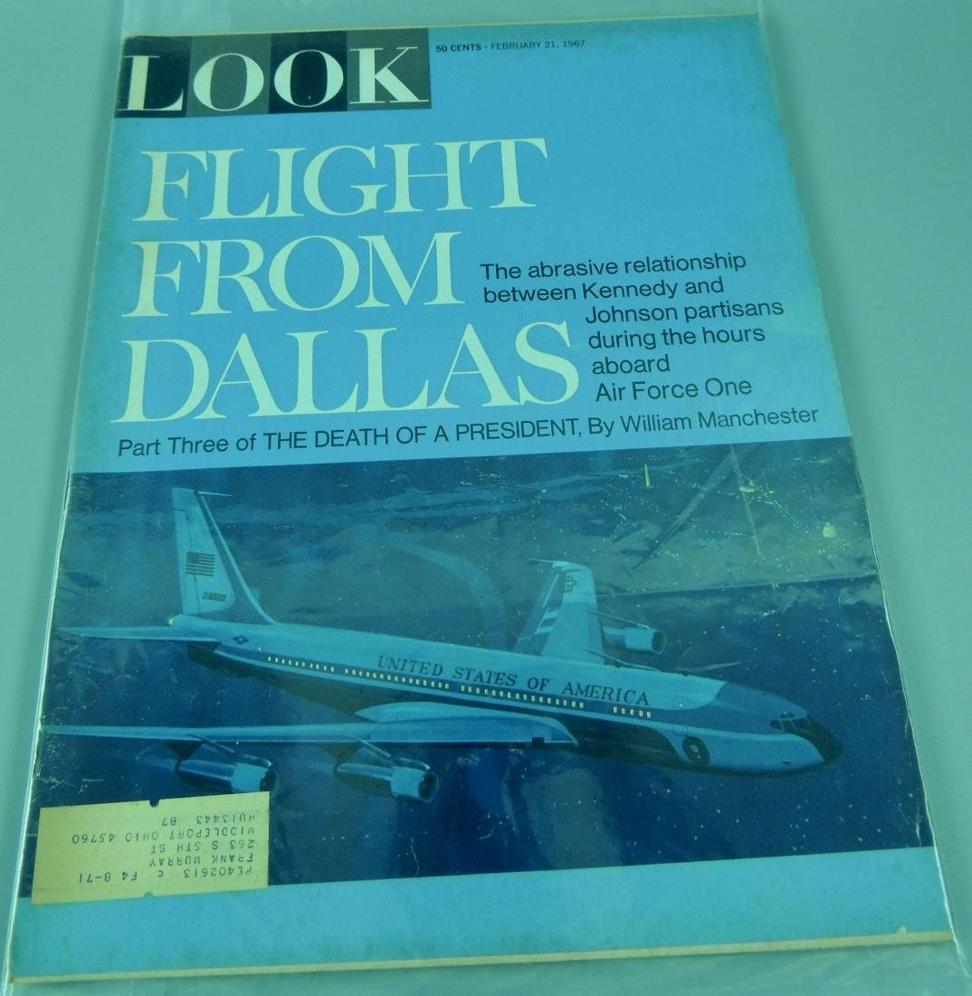 LOOK 1960's All Kennedy 3 Issues - 4