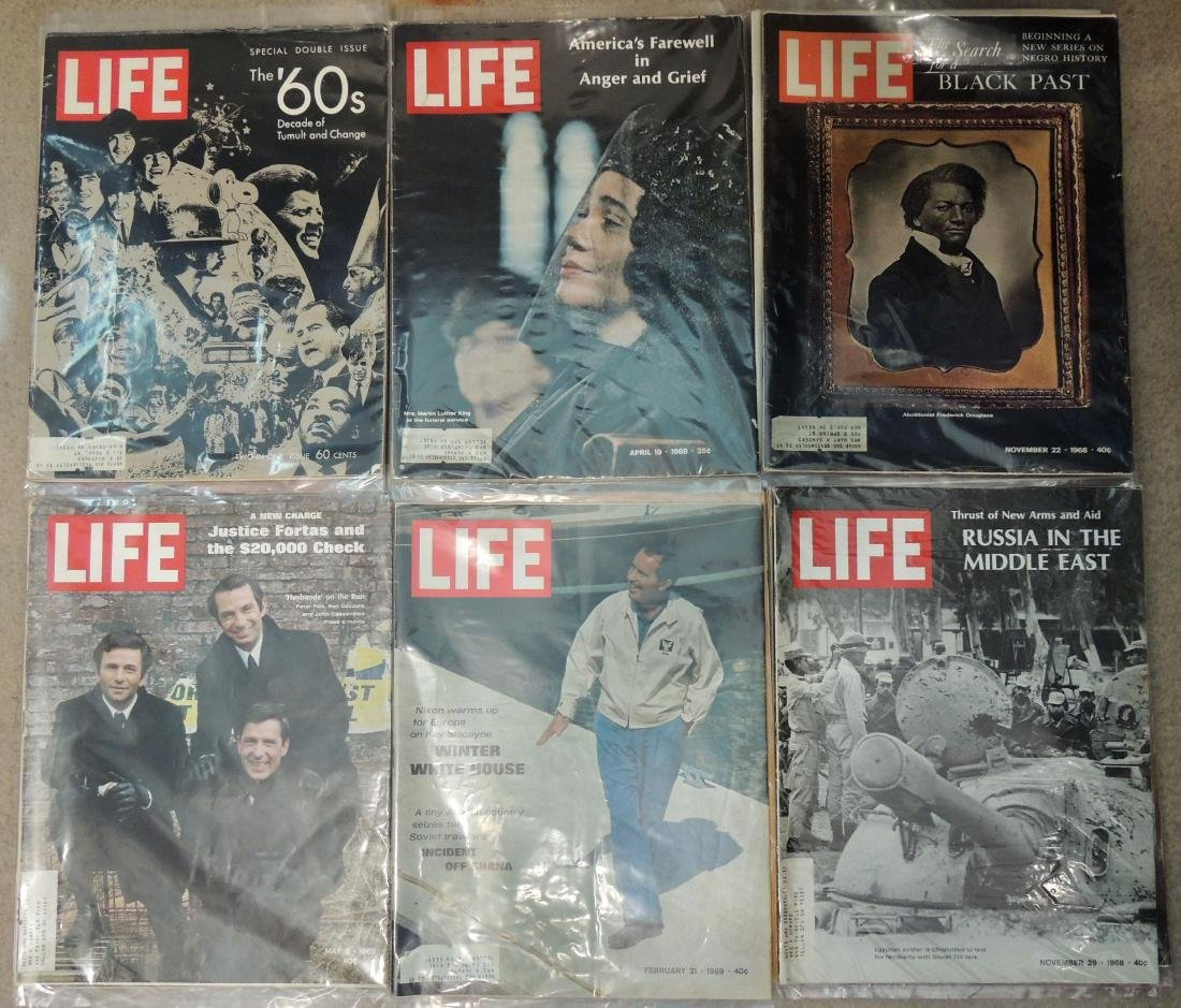 LIFE 1960's Mixed 12 Issues - 3