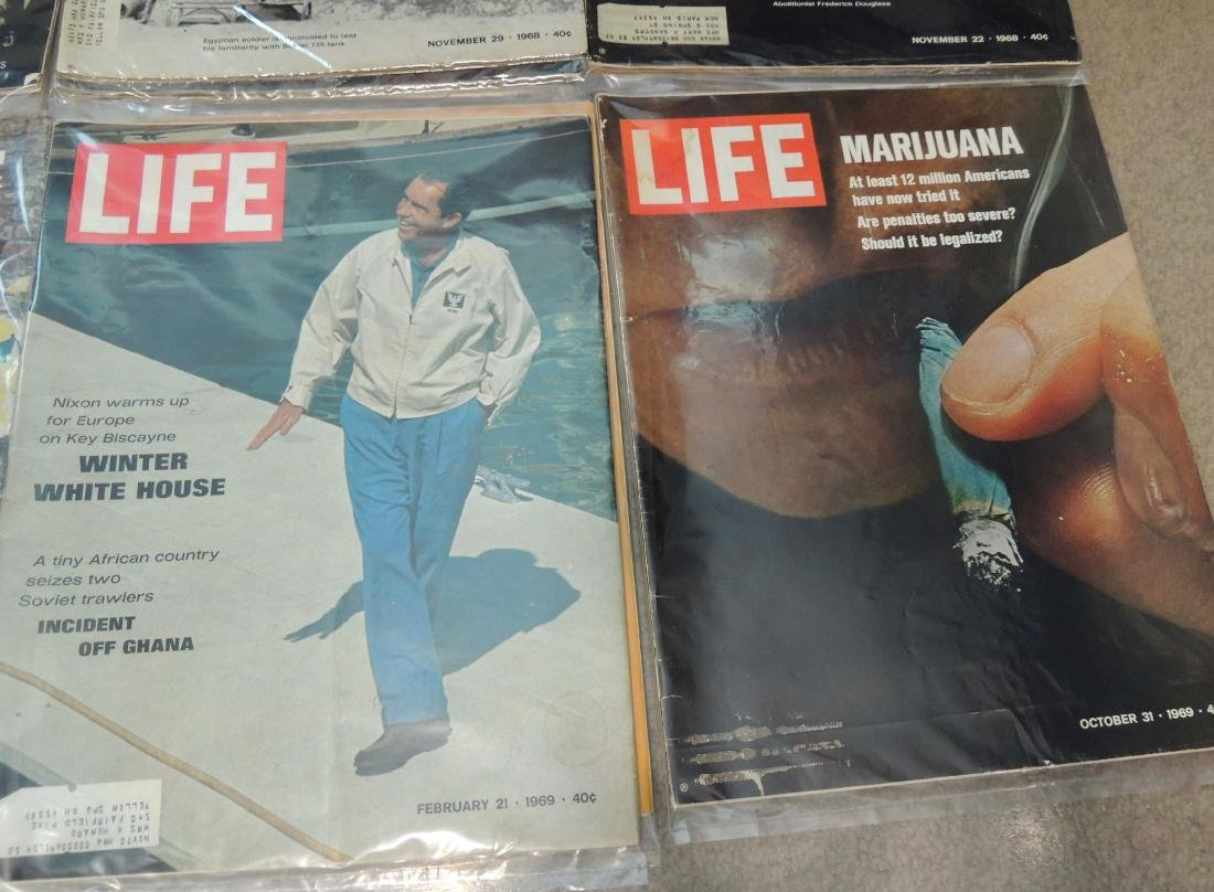 LIFE 1960's Mixed 12 Issues - 6