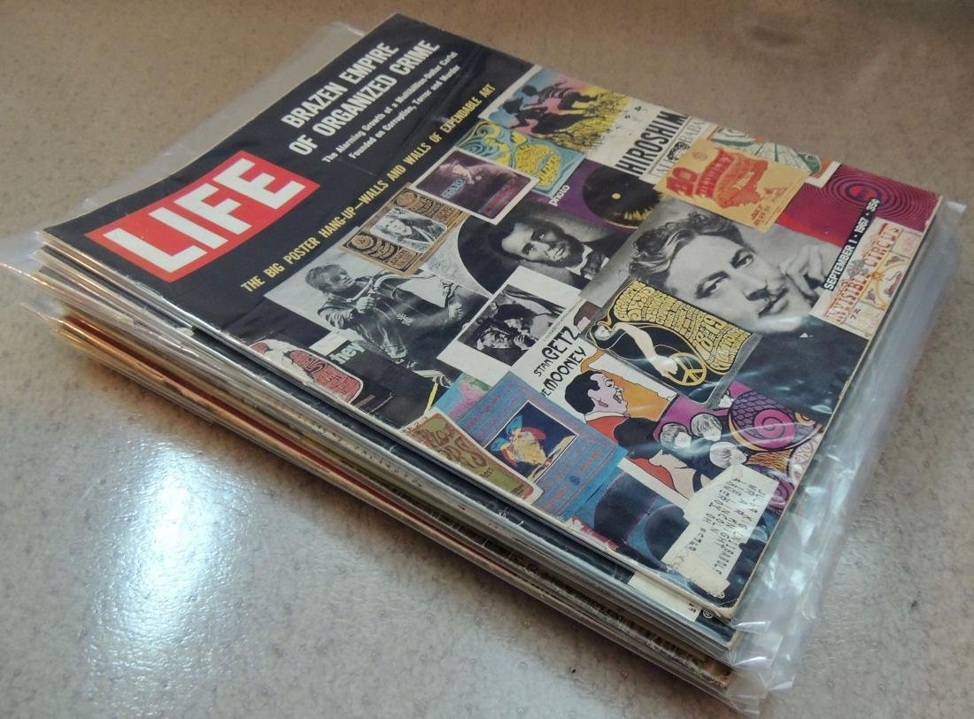 LIFE 1960's Mixed 12 Issues