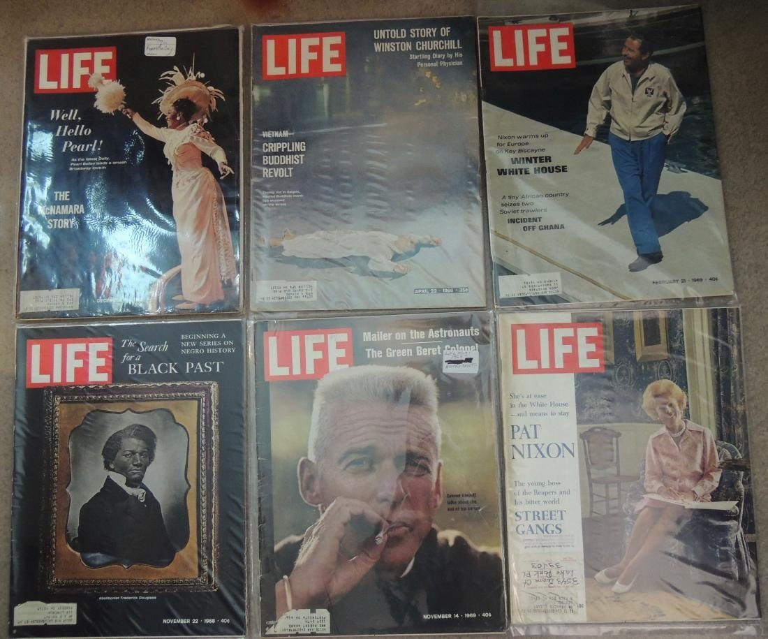 LIFE 1960's Mixed 12 Issues - 2
