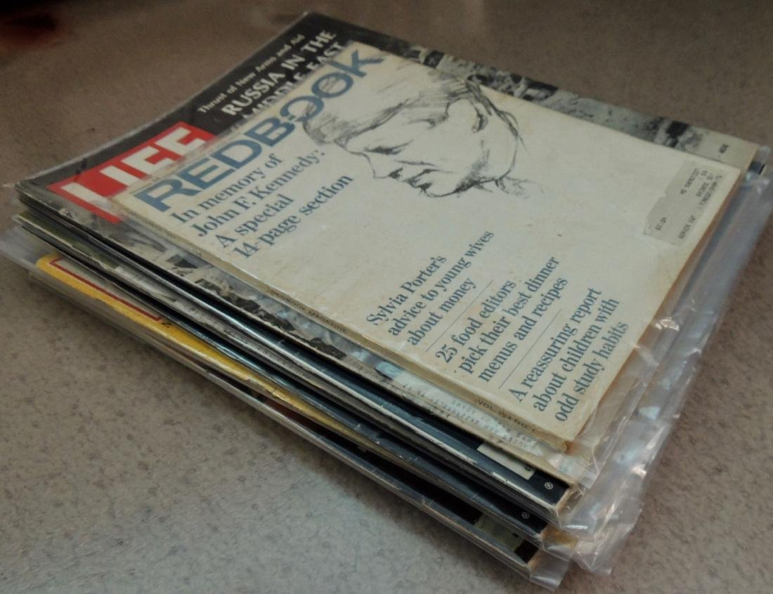 LIFE 1960's & '70's Mixed 13 Issues