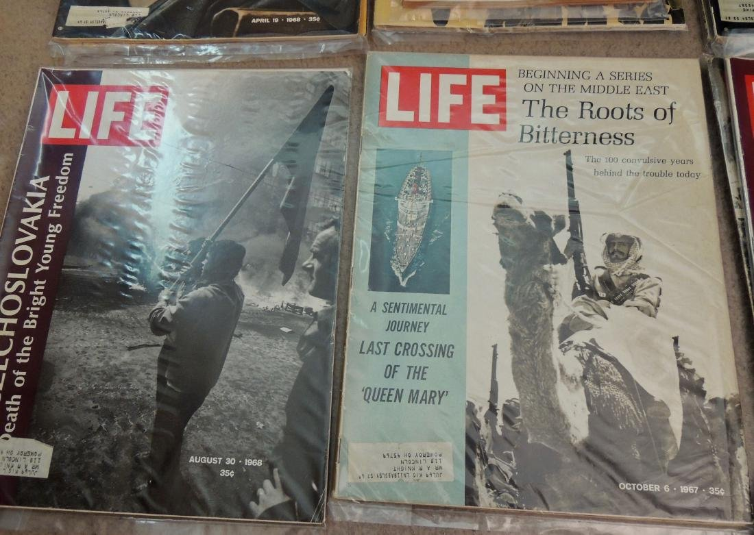 LIFE 1960's & '70's Mixed 13 Issues - 2