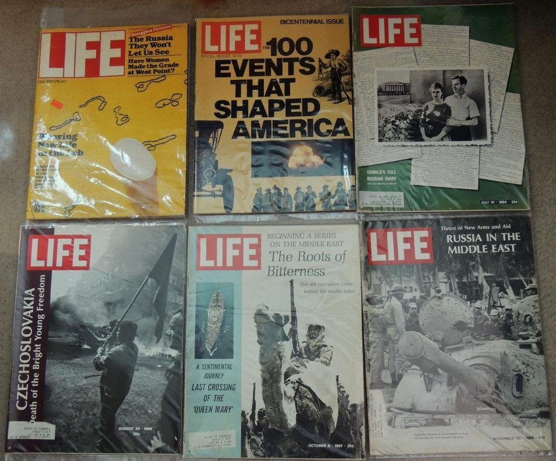 LIFE 1960's & '70's Mixed 13 Issues - 6