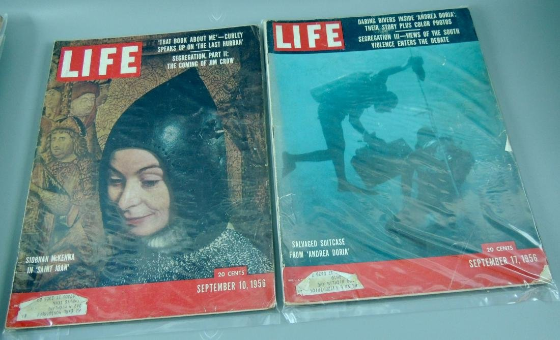 LIFE 1956, 2 Issues, The Coming of Jim Crow