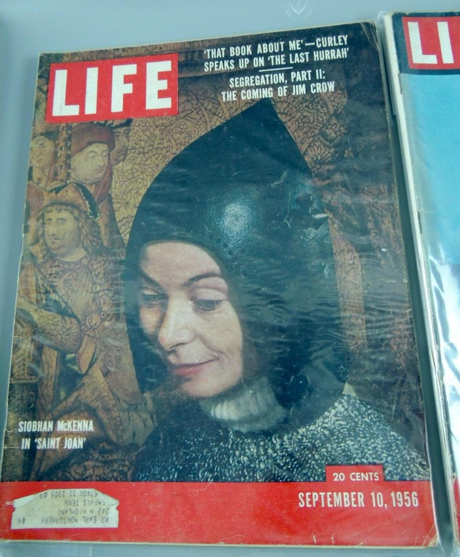 LIFE 1956, 2 Issues, The Coming of Jim Crow - 2