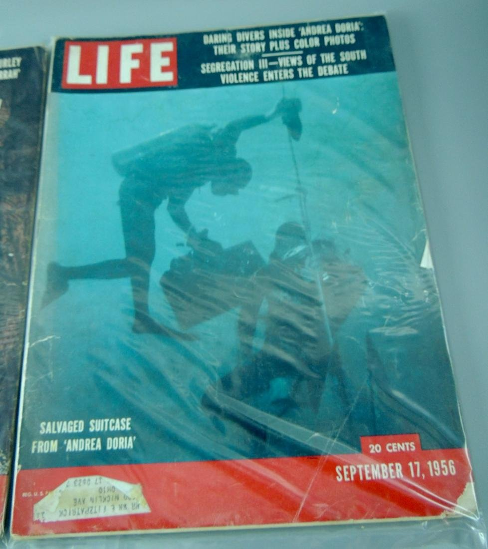 LIFE 1956, 2 Issues, The Coming of Jim Crow - 3