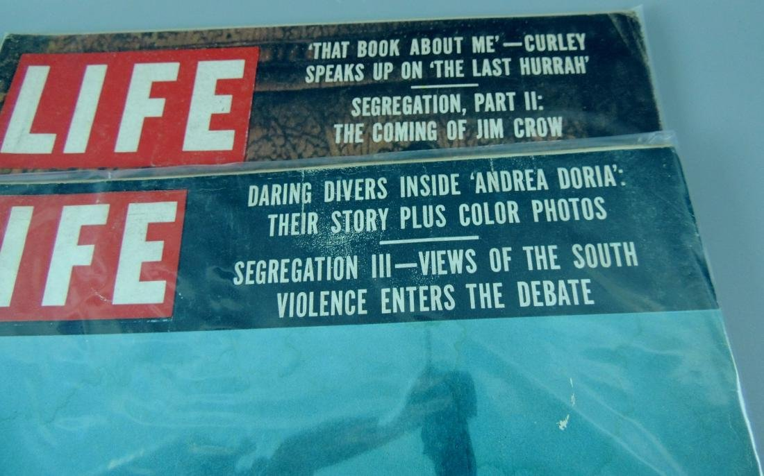 LIFE 1956, 2 Issues, The Coming of Jim Crow - 4