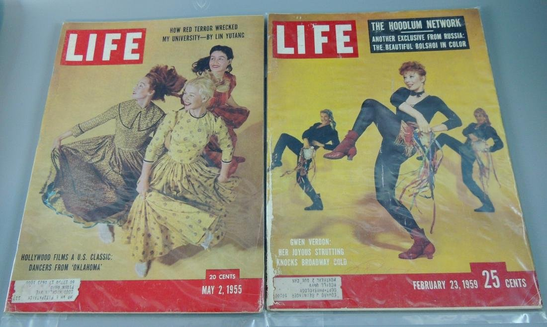 LIFE 1955 & '59, 2 Issues