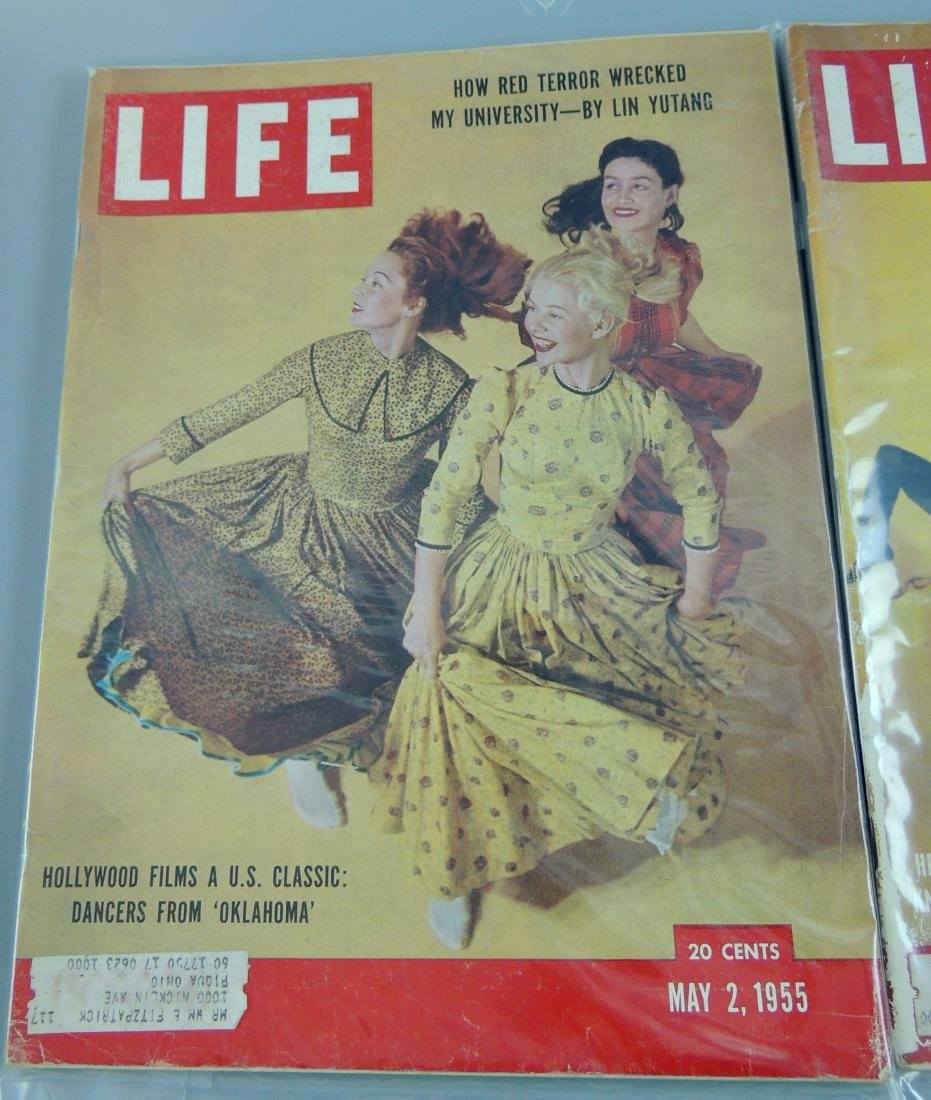 LIFE 1955 & '59, 2 Issues - 2