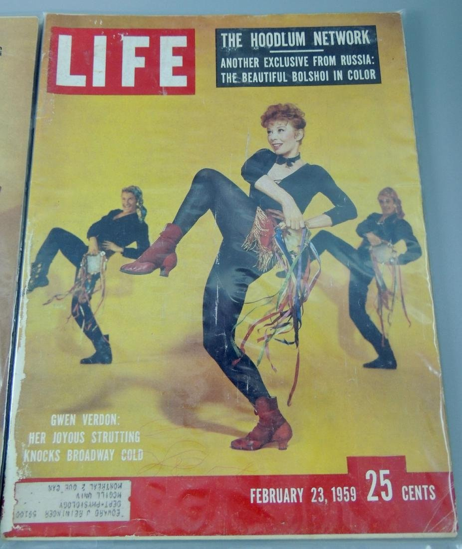 LIFE 1955 & '59, 2 Issues - 3