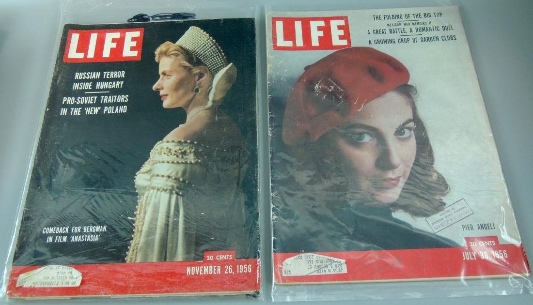 LIFE 1956, 2 Issues, Russian Terror