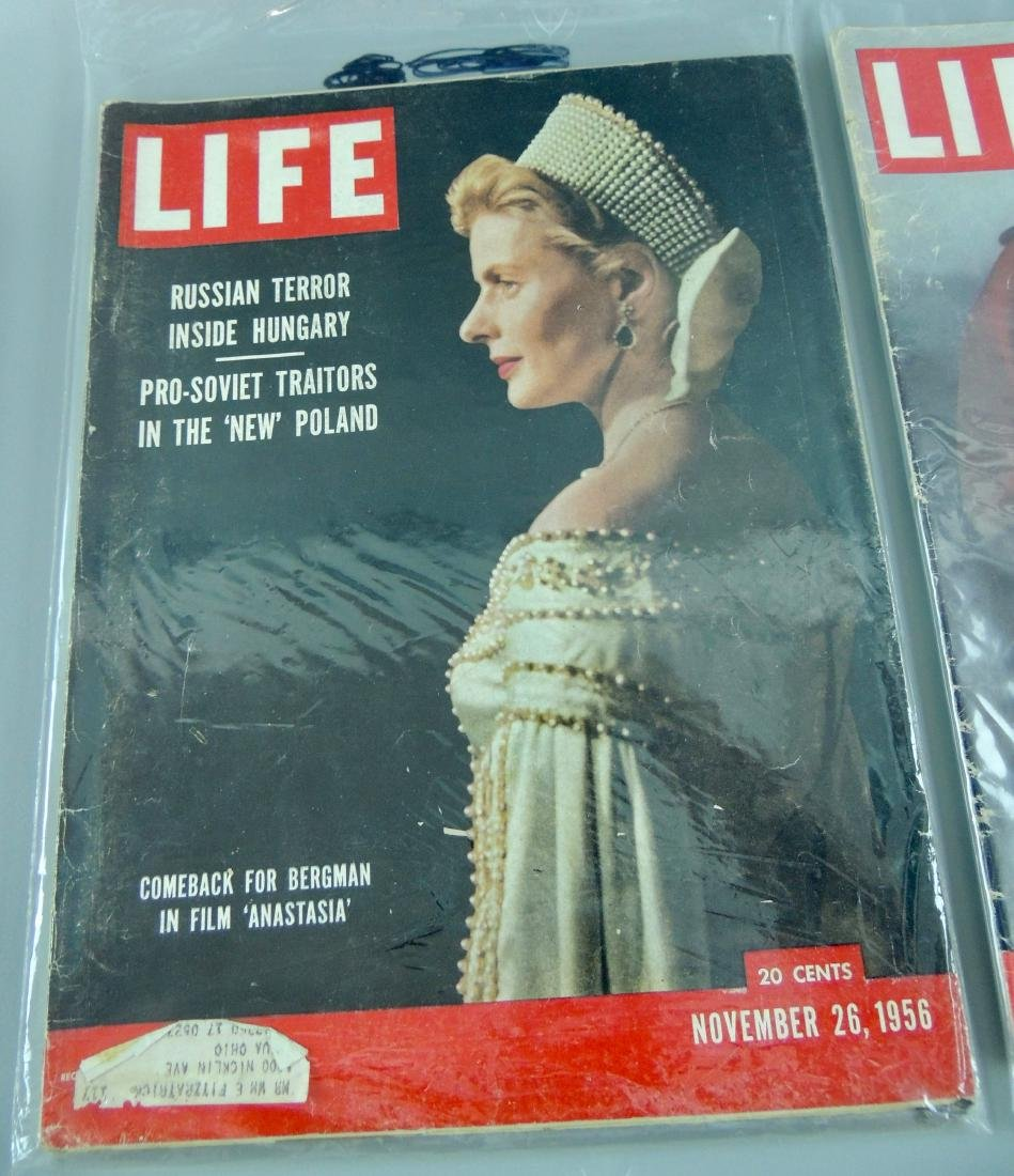LIFE 1956, 2 Issues, Russian Terror - 2