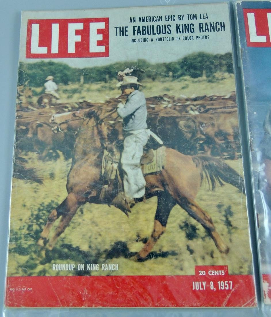 LIFE 1955 & '57, 2 Issues, Rock Hudson - 2