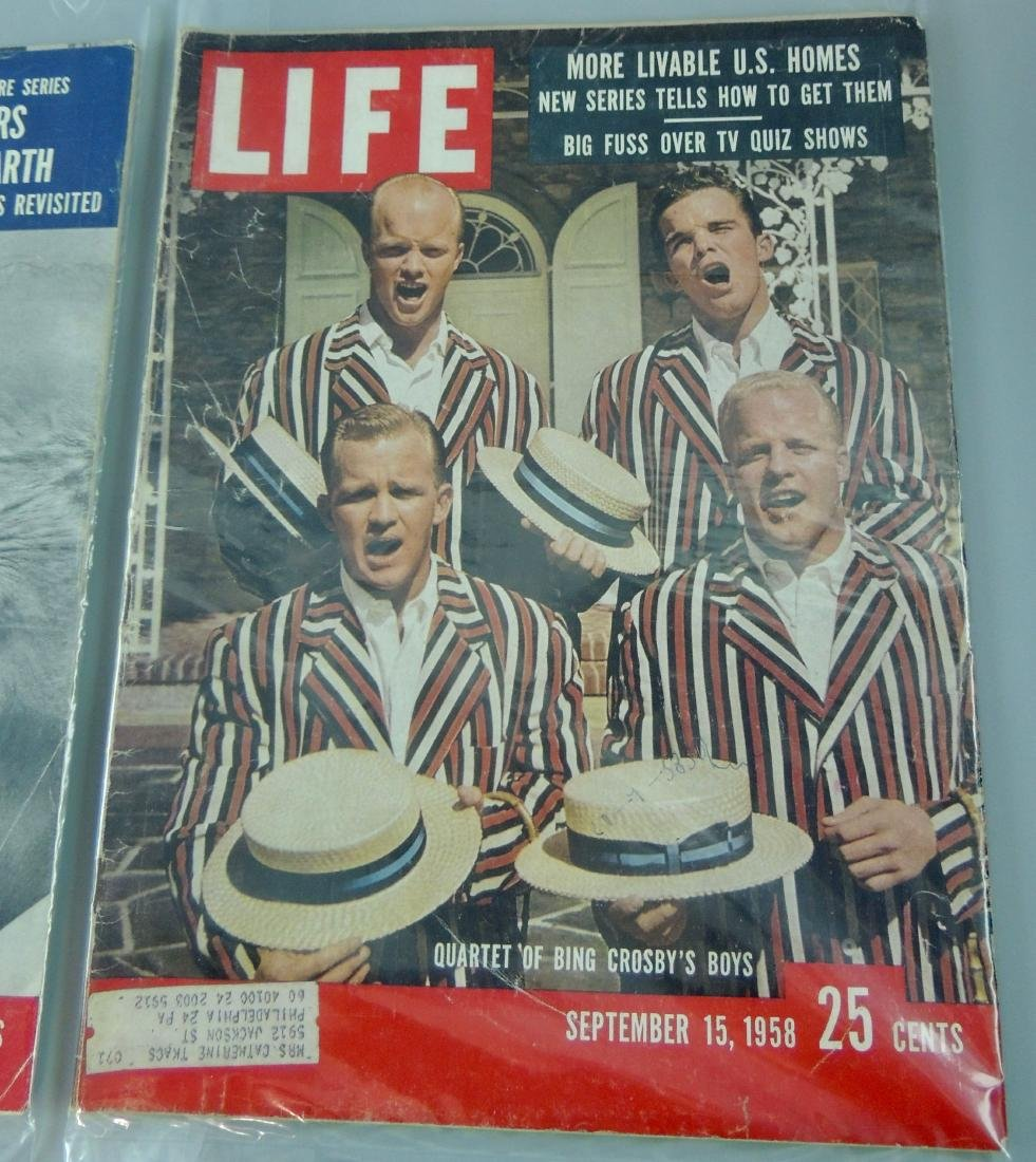 LIFE 1958, 2 Issues, Adam & Ike - 3