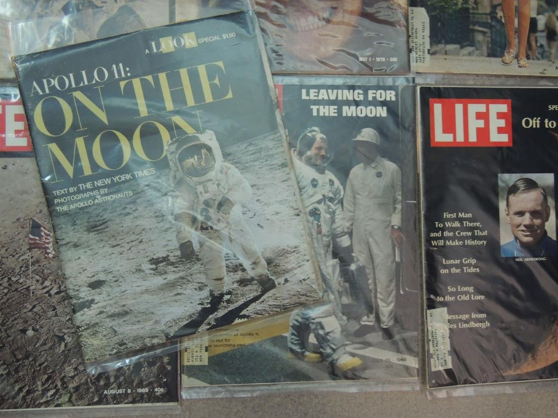 LIFE 1959, '60's & '70 Man on Moon, 19 Issues - 5