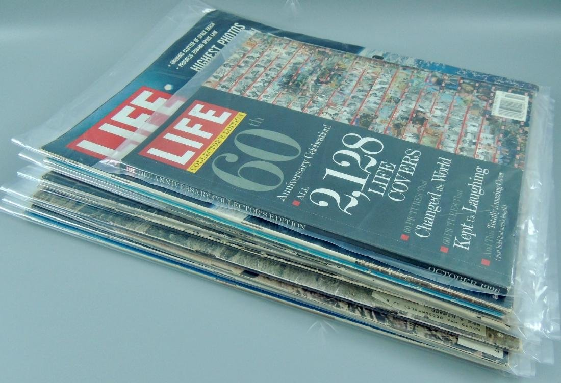 LIFE 1960's, '70 & '96 Mixed 10 Issues