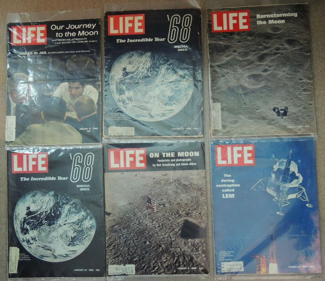 LIFE 1960's, '70 & '96 Mixed 10 Issues - 2