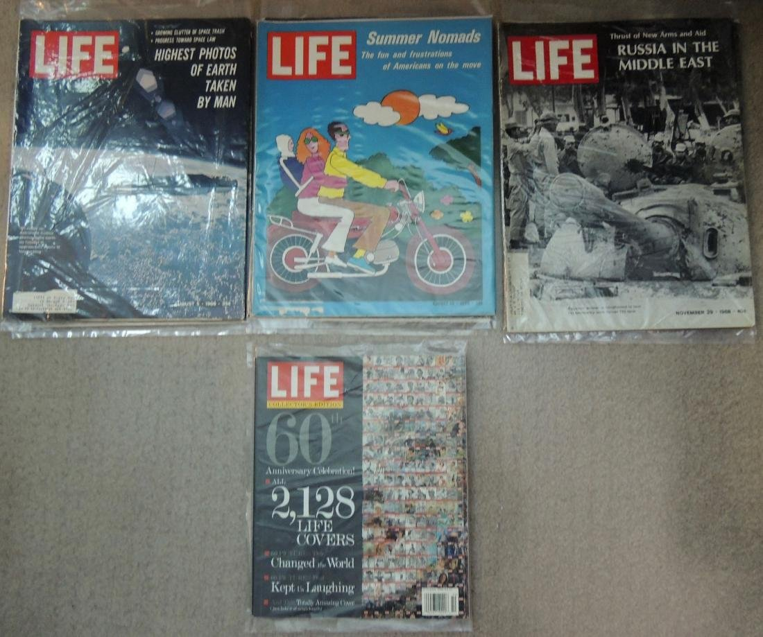 LIFE 1960's, '70 & '96 Mixed 10 Issues - 3