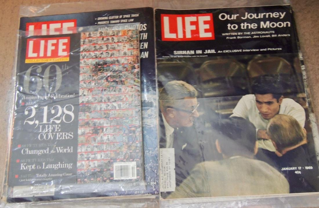LIFE 1960's, '70 & '96 Mixed 10 Issues - 5