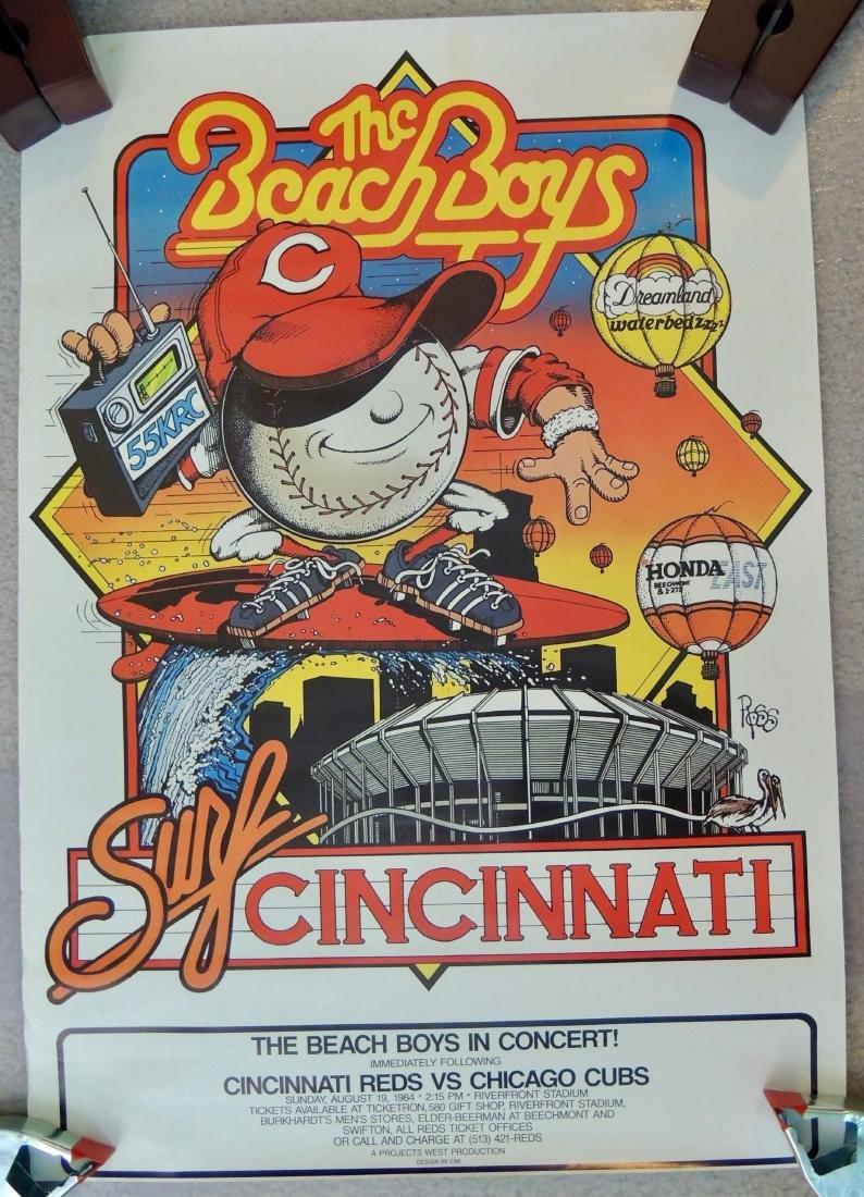 The Beach Boys 1984 Original Concert Poster