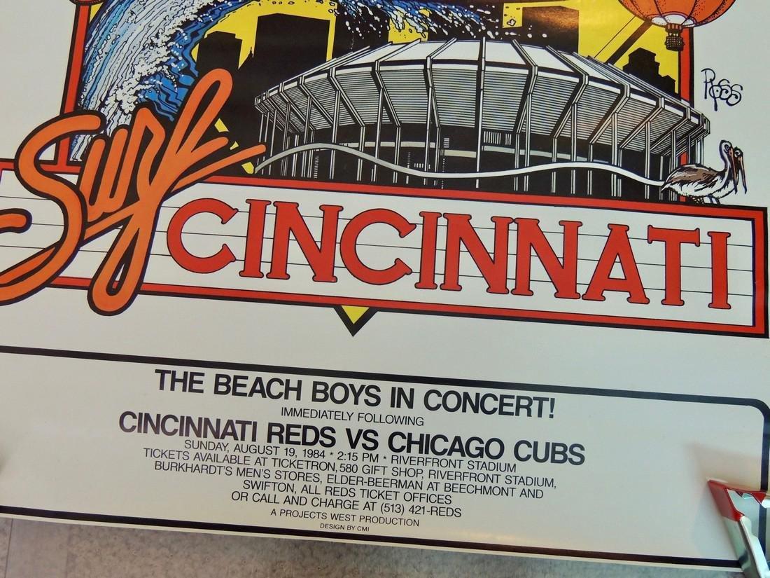 The Beach Boys 1984 Original Concert Poster - 2