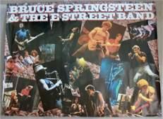 Bruce Springsteen Massive Record Store Promo Poster
