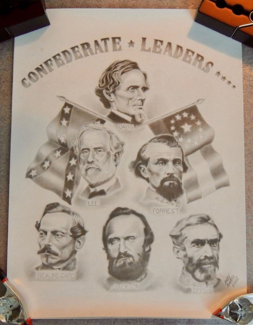 Civil War General & Leaders Prints, Lot of 14 - 4