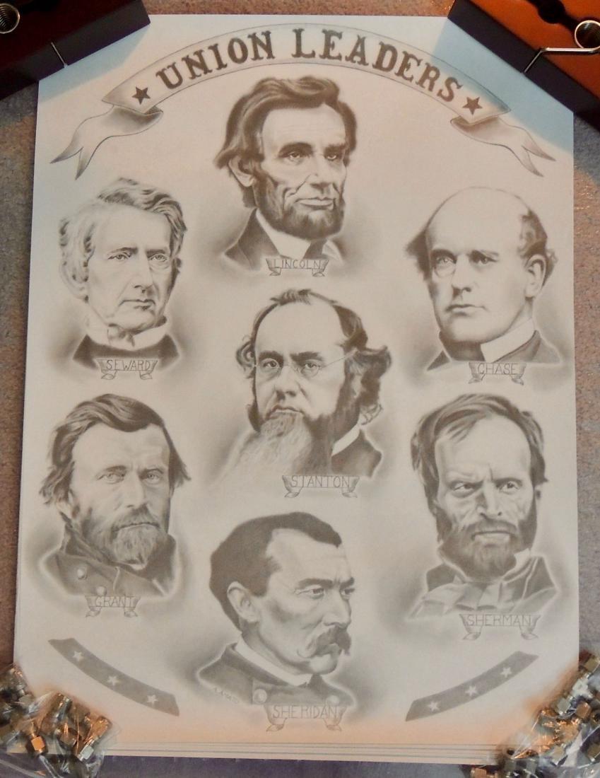 Civil War General & Leaders Prints, Lot of 14 - 6