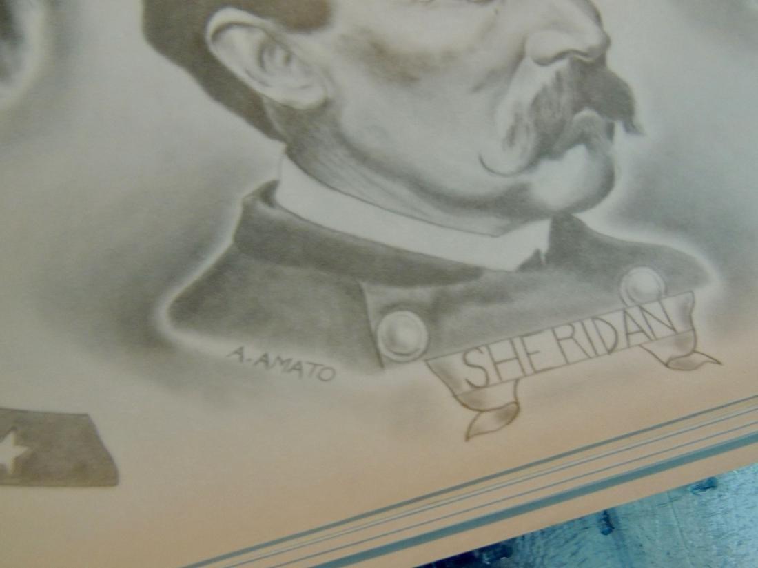 Civil War General & Leaders Prints, Lot of 14 - 7