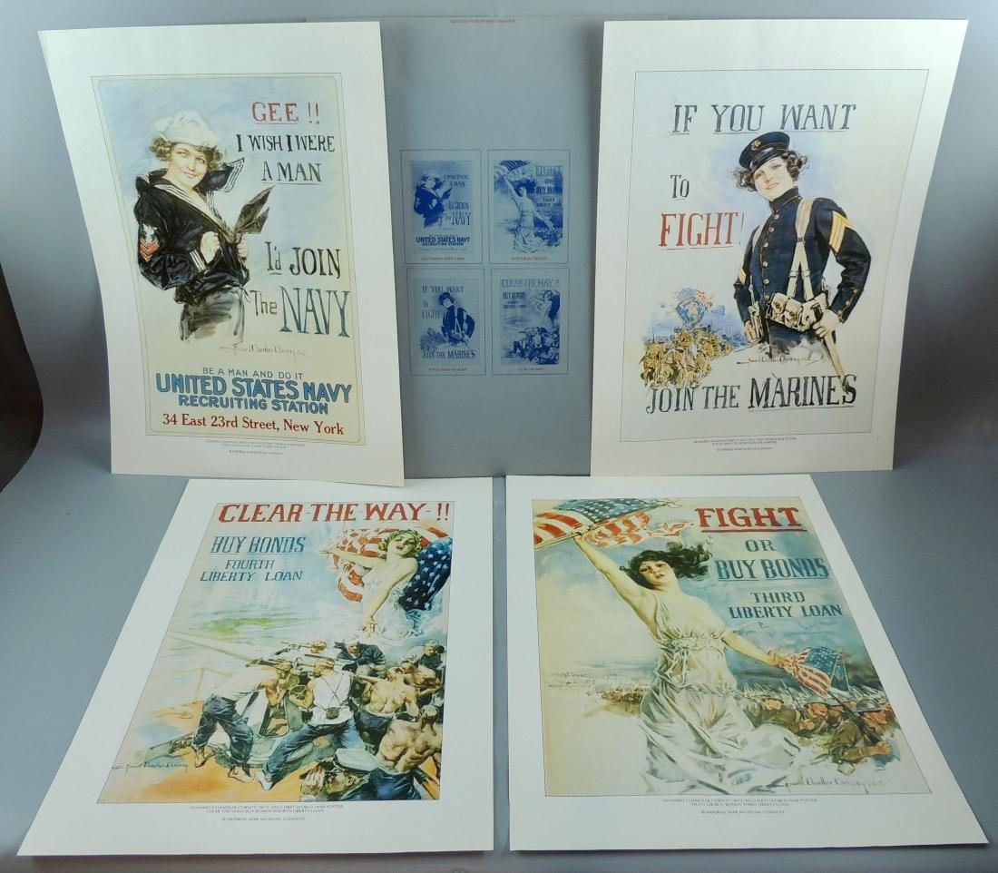 The Christy Girls Poster Set Folder