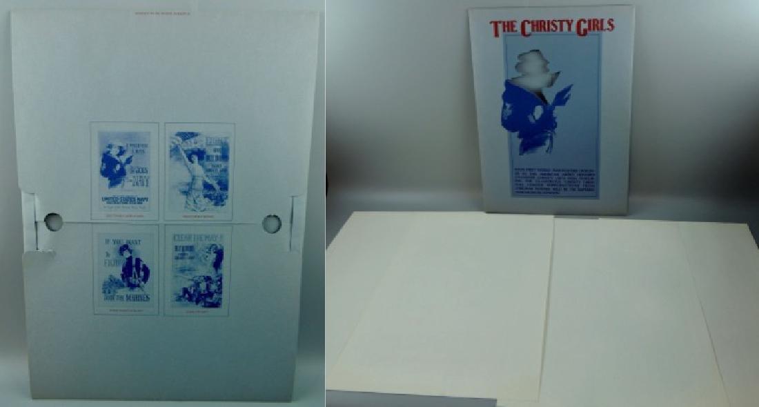 The Christy Girls Poster Set Folder - 8