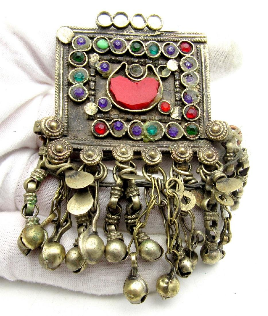 Elaborately Decorated Tribal Bedouin Yemeni Pendant