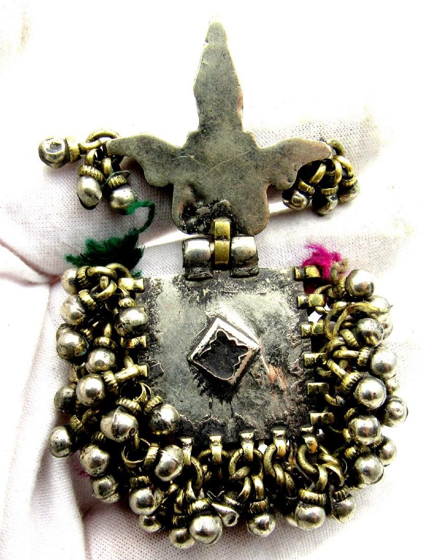 Elaborately Decorated Tribal Bedouin Yemeni Pendant - 4
