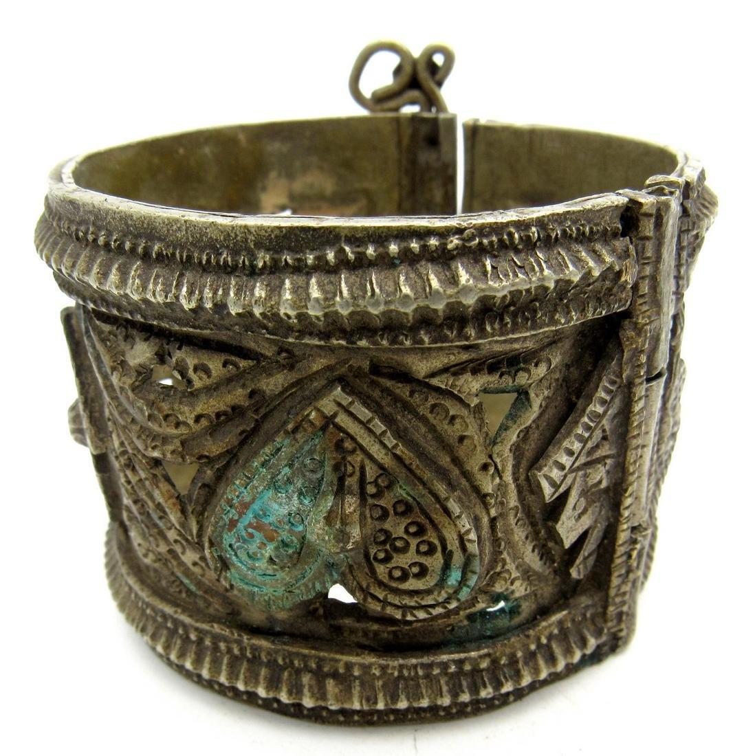 Vintage Bedouin Yemeni Wide Bracelet
