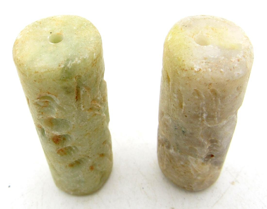 Pair of Middle Eastern Tribal Cylinder Seals - 2