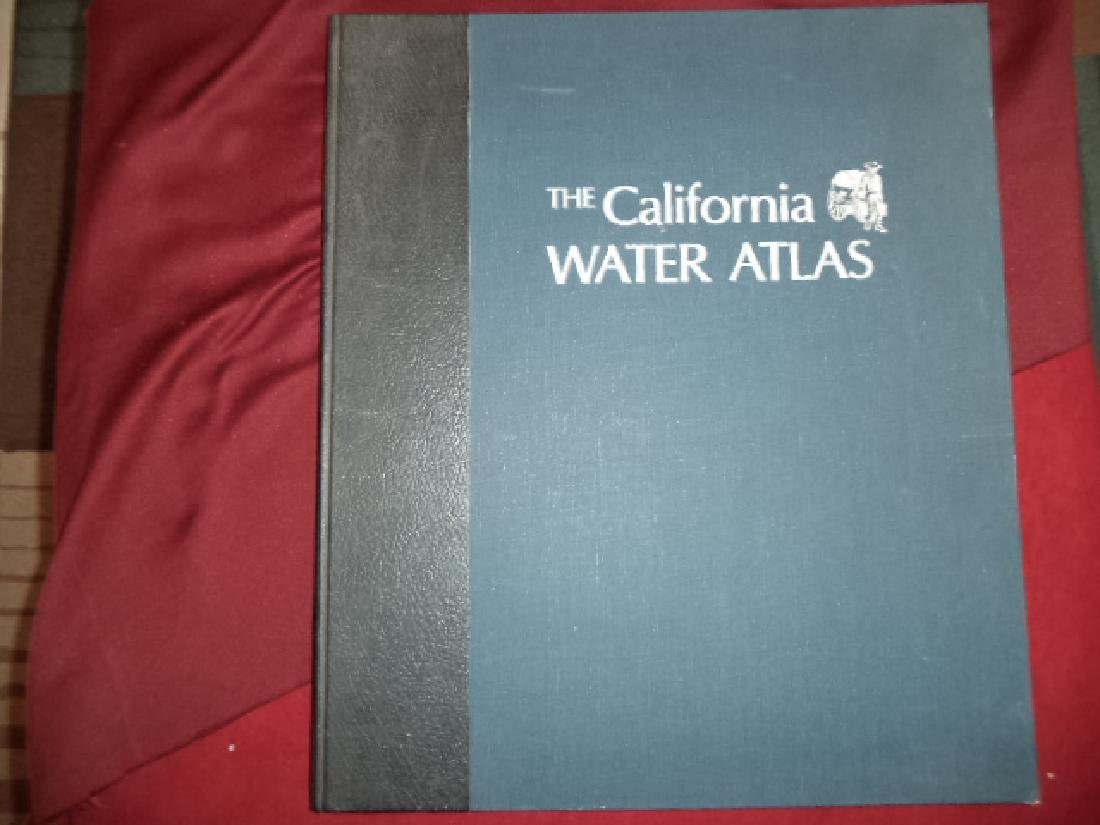 The California Water Atlas First edition Kahrl, William