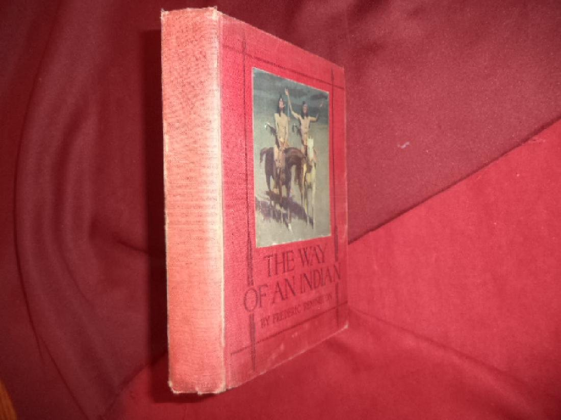 The Way of an Indian First edition Remington, Frederic